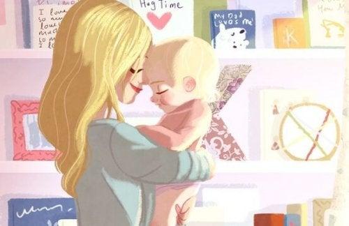 Varför vill bebisar bli burna?
