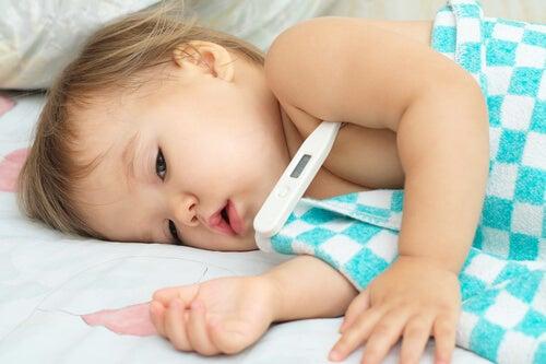 Febrigt barn