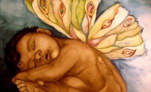 Bebis med vingar