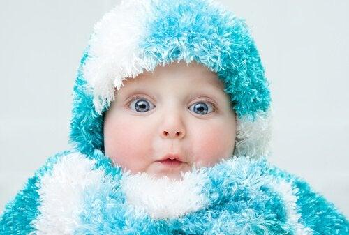 Förhindra att ditt barn får förkylning under vintern