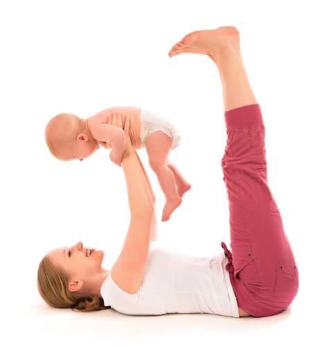 Tips för att gå ner i vikt efter graviditeten