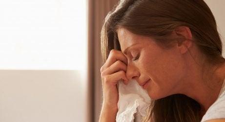 Även mammor gråter av utmattning, stress och rädsla