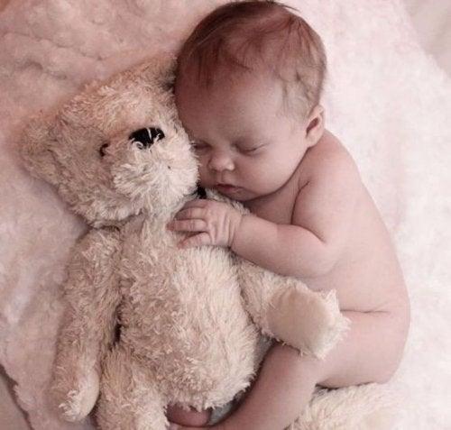 Ett brev från bebisen som väcker dig på natten