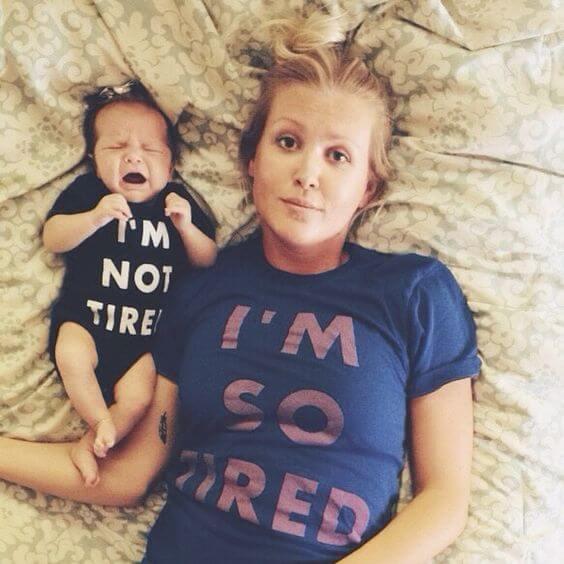 Farorna med att vara en trött mamma