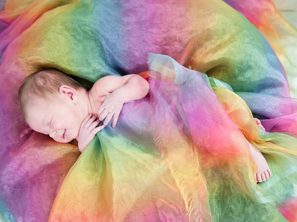 En annan typ av föräldraskap: Stjärnfalls- och regnbågsbarn