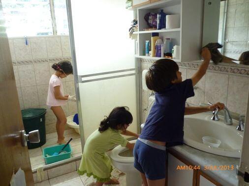 Att ge barn ansvar i utbyte mot privilegier