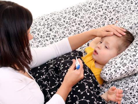 Pojke med feber