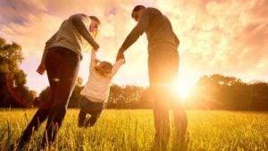 uppfostra barn med kärlek