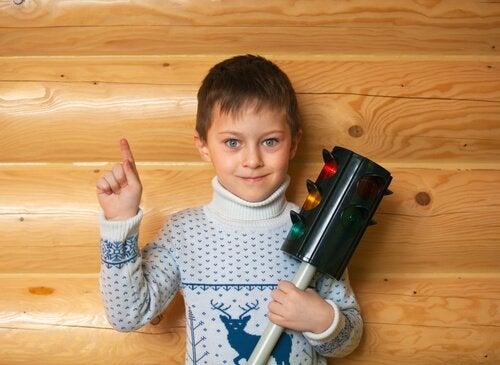 Stoppljusmetoden för att hjälpa barn att hantera sin ilska