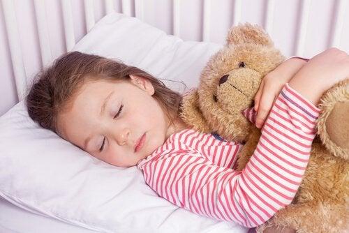 4-7-8-tekniken kan få ditt barn att sova på några sekunder