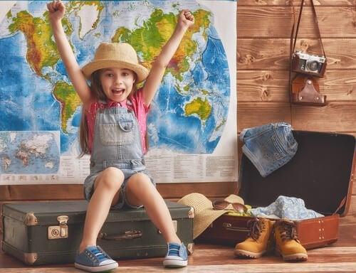Fördelarna med att resa i ung ålder