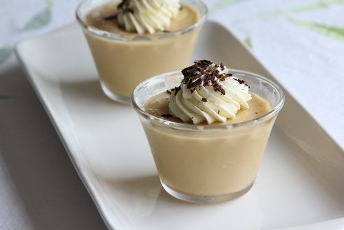 Bananmousse med choklad