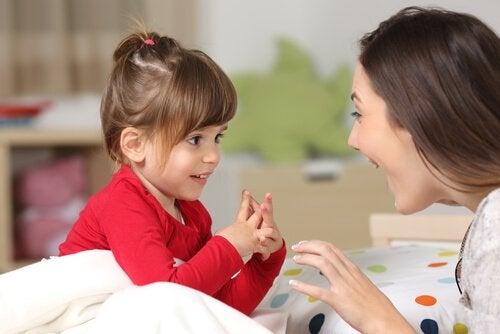 Barns språkutveckling från 0 till 6 års ålder