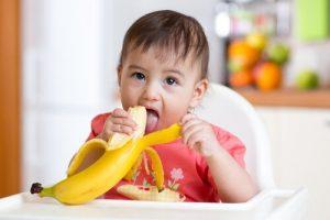 Den första maten för bebisar