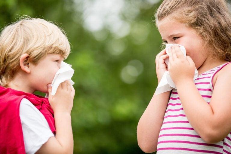 Barn med allergier