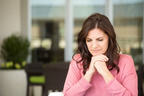 Irritabel kvinna