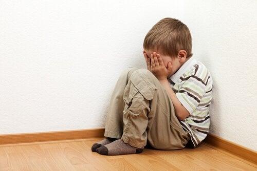 Barns rädsla för att vara ensamma