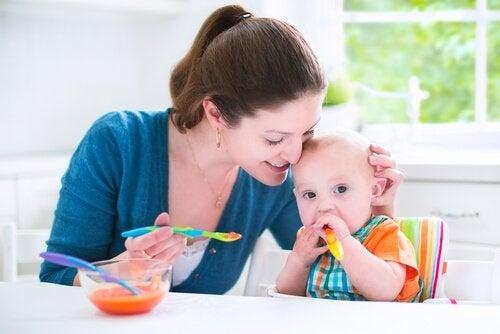 Läckra recept för barn mellan 6 och 9 månader