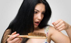 håravfall vid borstning