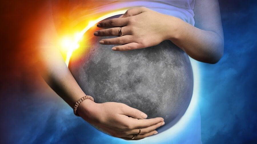 Om graviditeten påverkas av månförmörkelser