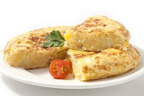 Laga läckra omeletter till barnen