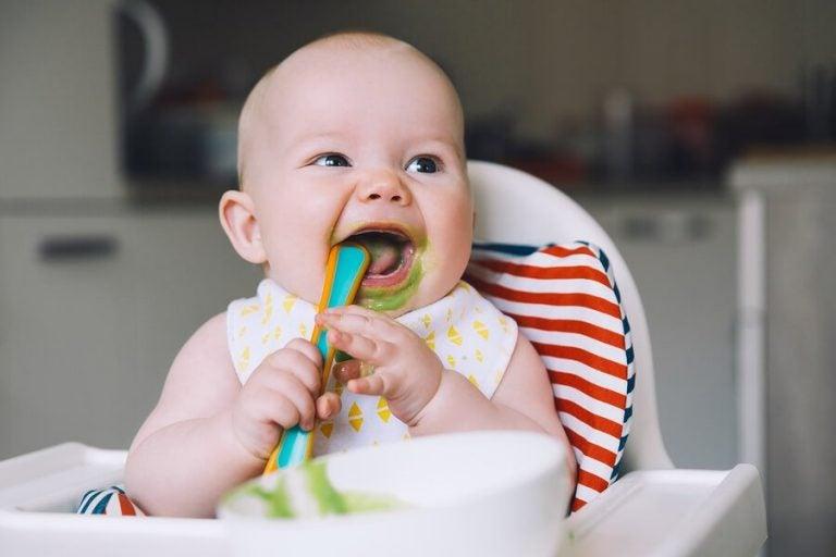 7 grönsakspuréer för bebisar