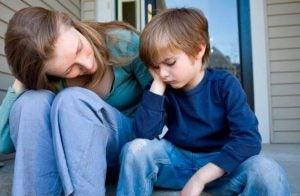 En mamma resonerar med sin son