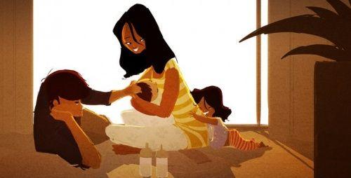 Att knyta familjeband
