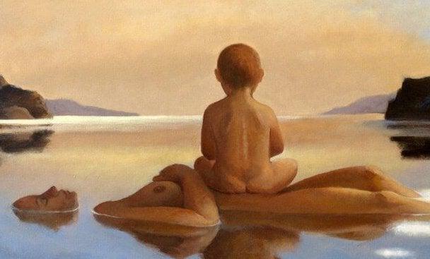 Mamma, håll mig nära din hud, nära din själ… Fri från rädsla