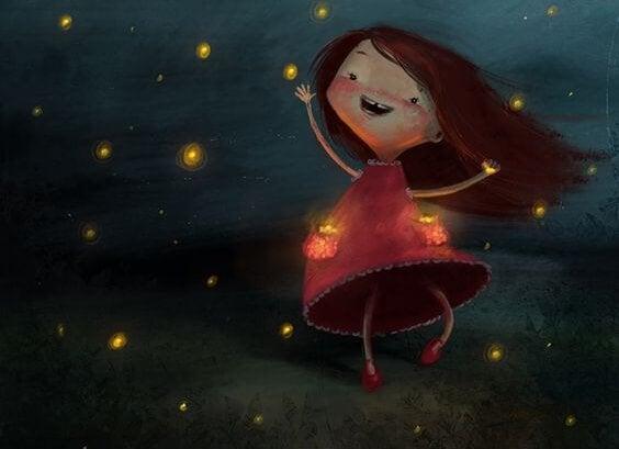Dansar under stjärnorna.