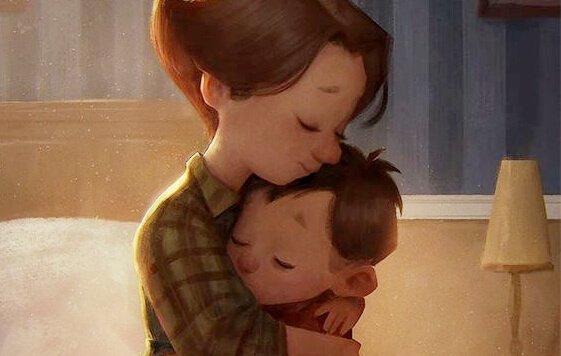 Hur ett barns hjärna utvecklas - nyckeln är kärlek