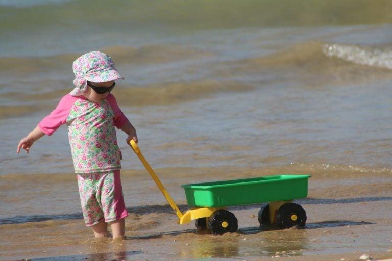 Barn utvecklas genom leken