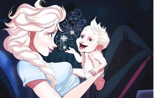 När din bebis börjar prata och bara du förstår