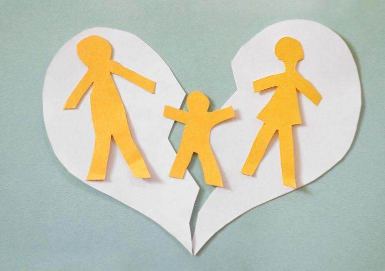 Barn med skilda föräldrar