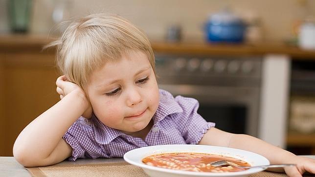 Barns personlighet och mat