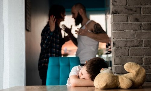 Bråkande föräldrar