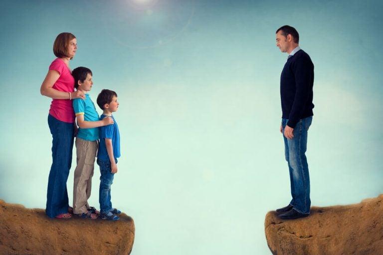 Separerad familj