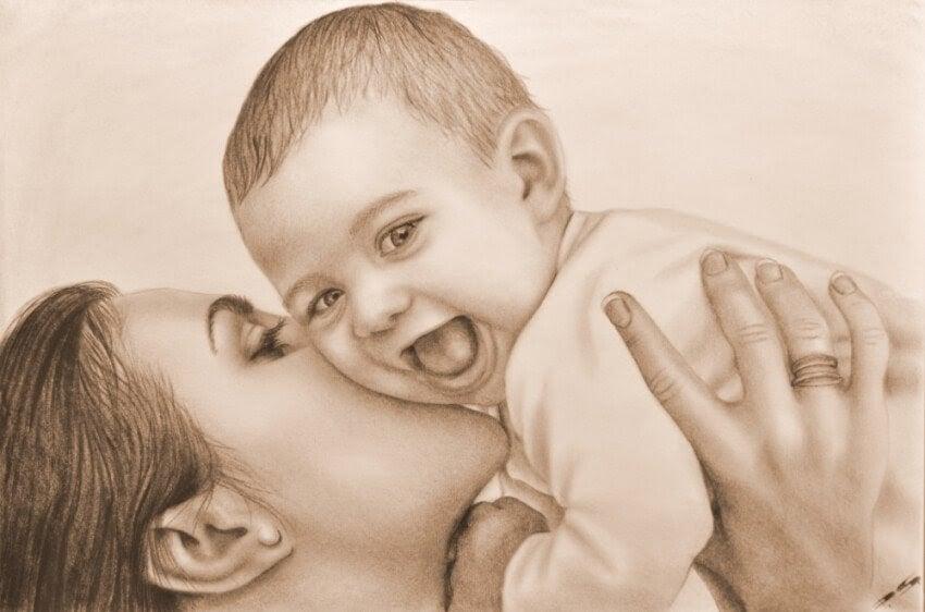 Du upptäcker nya vrår i hjärtat när du älskar ett barn