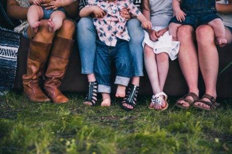 Vänner och familj.
