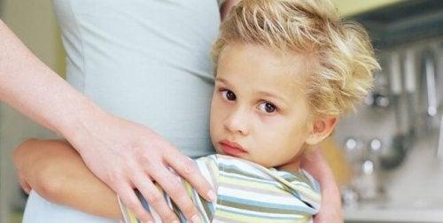 Rädslor hos barn som är 6 år gamla