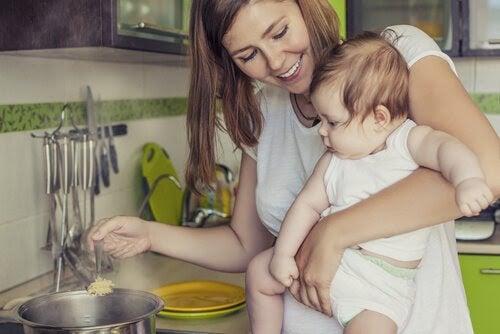 Vilka livsmedel bör du äta när du ammar?