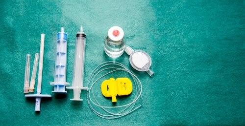 Utrustning för ambulatorisk epiduralbedövning