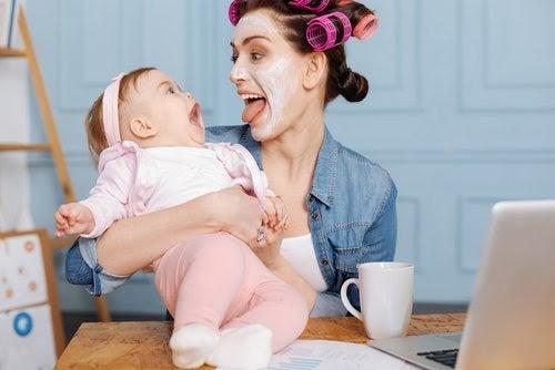 Underhålla din bebis