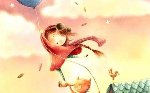 Vad är ett barns fantasi och hur utvecklas den?