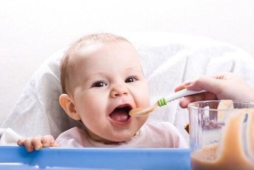 Hälsosamma recept för bebisar på 9 till 12 månader