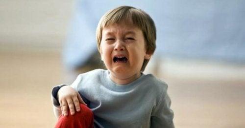Barn som gråter
