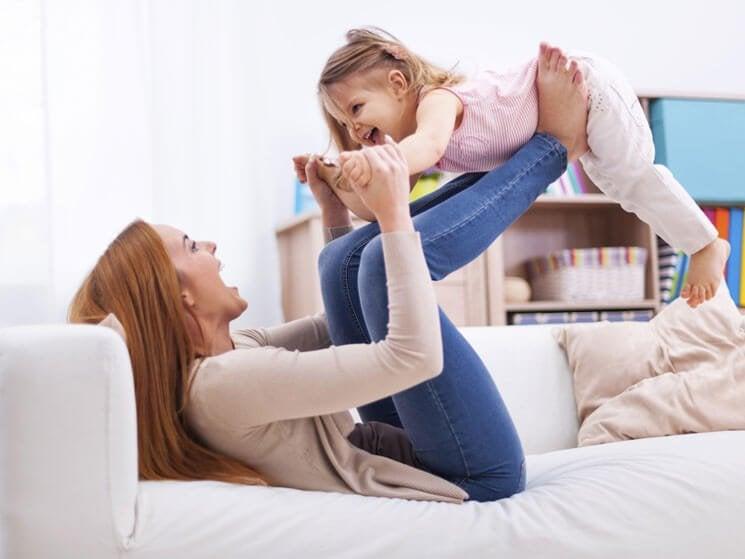 Mostrar har rollen som andra mammor