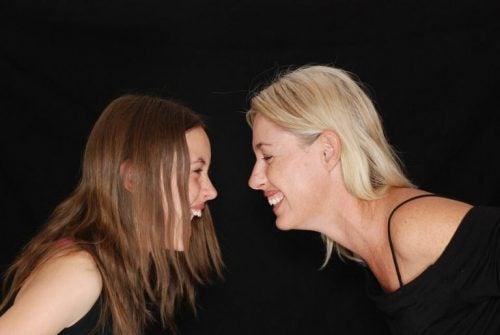 moster och syskonbarn