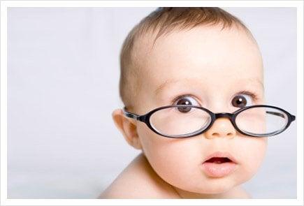 Känner du till tidpunkten när bebisar börjar se?