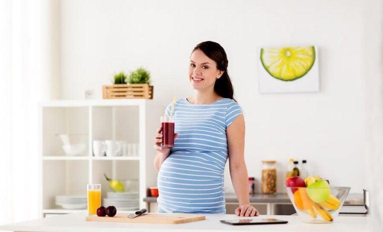 4 utsökta juicer för gravida kvinnor